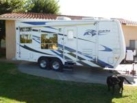 21' Ragen and 23' Weekend Warrior trailers. Each are