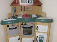 American Plastics Homestyle Kitchen Play Set This