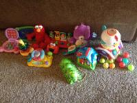 Lot of baby/toddler toys all good condition FOUND MORE