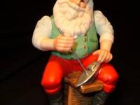 "I bought these Hallmark, ""TOY MAKER"" Santas that was a"