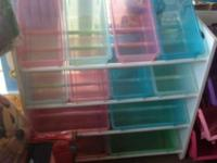We have a great toy organizer/shelving system for sale