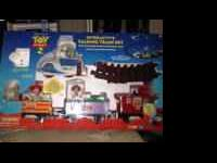 Toy Story 2 Interactive Talking Train Set....like new,