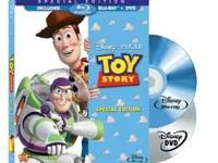 I am selling all three of my Toy Story BluRay/DVD combo