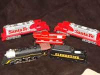 Tyco toy trains. These are older trains in excellent