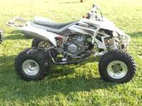 Has a new '08 engine off a 4-wheeler that was wrecked