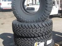 New Toyo A/T II Tires 315/75/R16 Part# 352770 Load