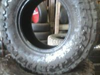 Set Of 4 used 285/75r16 Toyo Open Country Mt Load range
