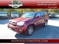 4Runner Limited V6 4WD CLEAN CARFAX Heated Bucket Seats