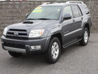 4WD. One-owner! Never let you down! This 2005 Toyota