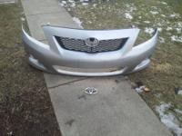-01-07 Toyota Highlander bumper,grille and fans