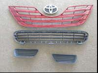 01 2007-2009 BUMPER LOWER GRILLE MATTE-BLACK.02