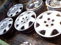 full set of Toyota factory Steel Wheels  with hubcaps