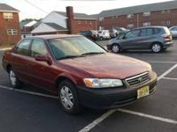Selling my 2000 Toyota Camry LE. Clean title, good
