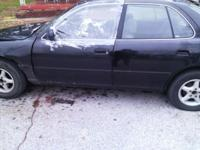 Toyota Camry offered as is, has salvage title however I