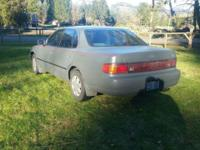 1992 Toyota camry LE 4 Dr. 4 cylinder-automatic