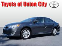 Say hello to your new vehicle, this gray 2014 Toyota