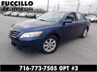 This is a beautiful 2011 Toyota Camry that we just had