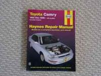 Like a new Toyota Camry Haynes Repair Manual. Auto part