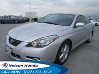 CLEAN CARFAX ADULT DRIVEN 2008 TOYOTA CAMRY SOLARA WITH