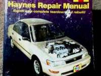 used haynes repair book / manual. good condition. all