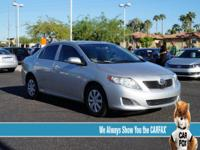 Corolla LE, 4-Speed Automatic, and Clean Carfax!.
