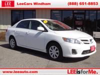 The Corolla is an excellent value among compact cars. A
