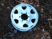 Up for sale is a set of factory Toyota Tacoma wheels.