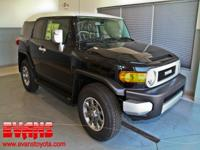 FJ Cruiser trim, Black exterior and Dark Charcoal