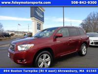 7 Passenger 2010 TOYOTA Highlander LIMITED AWD finished