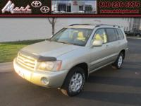 Highlander V6 4x4 w/Power Package & Cruise Control,