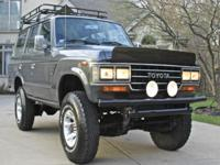 FJ62 Land Cruiser - 4x4 Works Great and Has ARB Lockers
