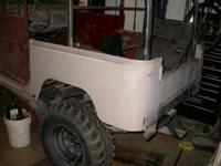 I HAVE FJ40 PARTS FOR SALE:  TUB WITH NEWER SKINS