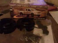 "I have a 1"" front leveling kit, by Daystar, for a"