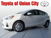 How about this 2013 Prius c Two? It has a 1.50 liter 4