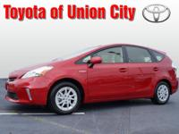 Set your sights on this barcelona red 2013 Toyota Prius