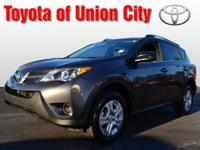 Take a look at this 2013 Toyota RAV4 LE. With a safety