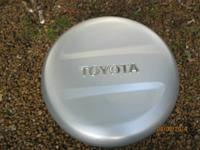 (1) Toyota Rav4 tire cover (manufacturing facility).