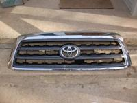for sale is a genuine oem Toyota sequoia chrome front