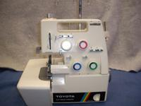 This is a heavy duty serger made by toyota model 6600