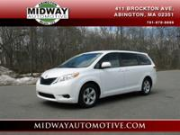 ***1 OWNER*** CLEAX CARFAX!!!!!!!!*** This Sienna has