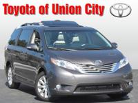 Set your sights on this dk. gray 2013 Toyota Sienna