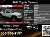 Call Bruce Walters Ford at . Stock #: T6148C. VIN: