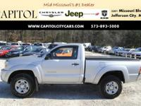 From mountains to mud, this Silver 2006 Toyota Tacoma