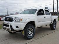 4WD, 3 lift kit, and Chrome wheels. Crew Cab! Don't