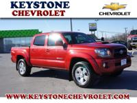 Is this red 2011 Tacoma V6 the one for you? With a 5