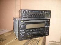 I have a factory Toyota stereo In the pictures, it's
