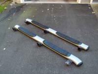 For Sale - Tube step style running boards that came off
