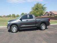2012 Tundra Double Cab with the BIG ENGINE, 4WD,