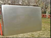 Locking Fiberglass cap for tundra bed- fiberglass with