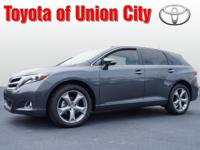 Set your sights on this gray 2013 Toyota Venza Limited.